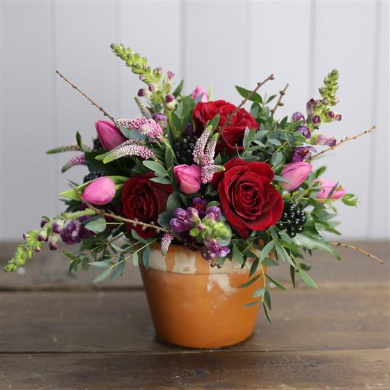 Walter Smith Collection - Gorgeous Rustic Vibe Arrangement