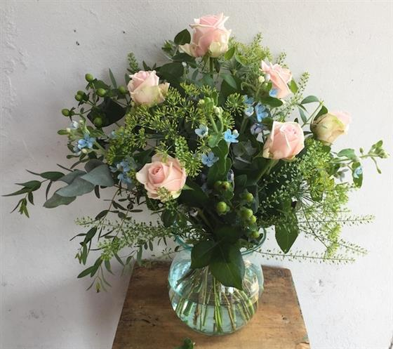 Walter Smith Flowers - Classic Rose Bouquet